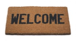 welcome mat (wikimedia)