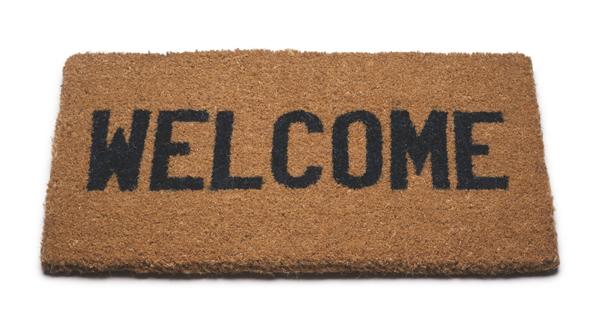 welcome mat (wikimedia)